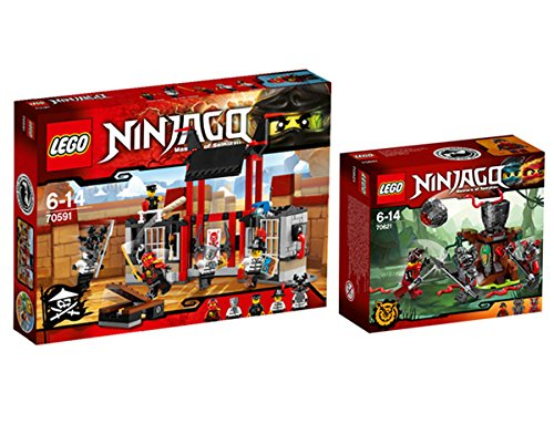 Preisvergleich Produktbild Lego Ninjago Set 70591 + 70621