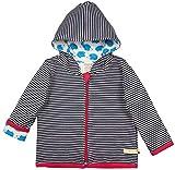 loud + proud Unisex Baby Wendejacke aus Bio Baumwolle, GOTS Zertifiziert Jacke, Blau (Navy Ny), Herstellergröße: 98/104
