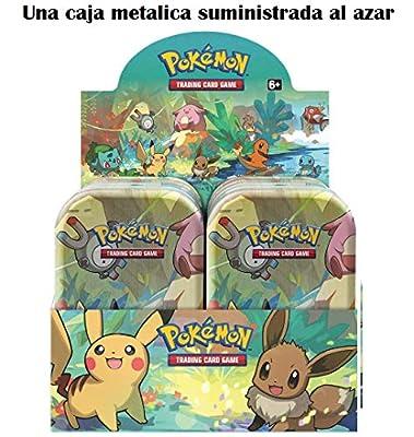 Pokemon JCC Minilata Amigos de Kanto - Español (Una Suministrada al Azar) The Pokemon Company POMT1901 de The Pokemon Company