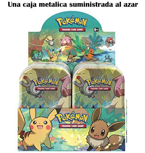 Pokemon JCC- Minilata Amigos de Kanto - Español (Una Suministrada al