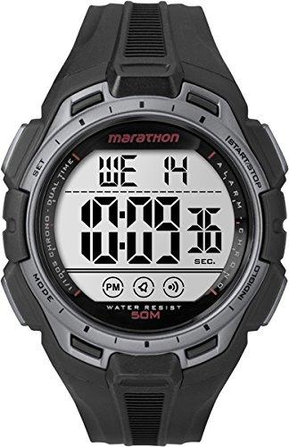 Timex Marathon TW5K94600 - Reloj de cuarzo para hombres, color negro