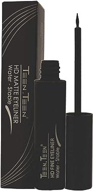 Teen Teen HD Matte Liquid Eyeliner, Black, 7 ml