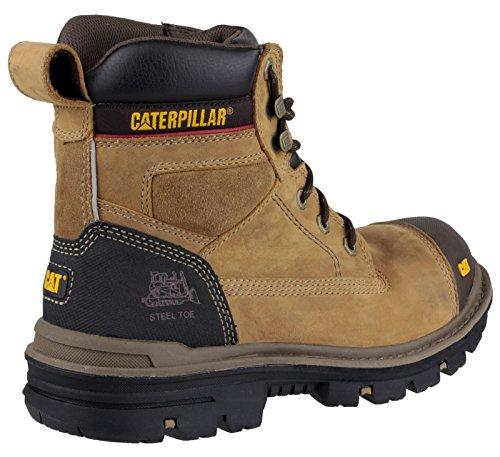"""Caterpillar CAT Gravel 6"""" Bottes de sécurité Beige"""