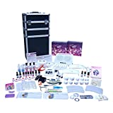 Ocibel - Kit Manucure Faux Ongles Pro Mobile 100 produits avec Trolley