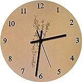 Azeeda 275mm 'Efeu' Große MDF-Uhr (CK00009602)