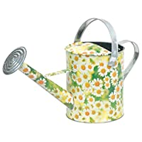 Verdemax 5951 5 Litre Daisies Design Zinc Watering Can