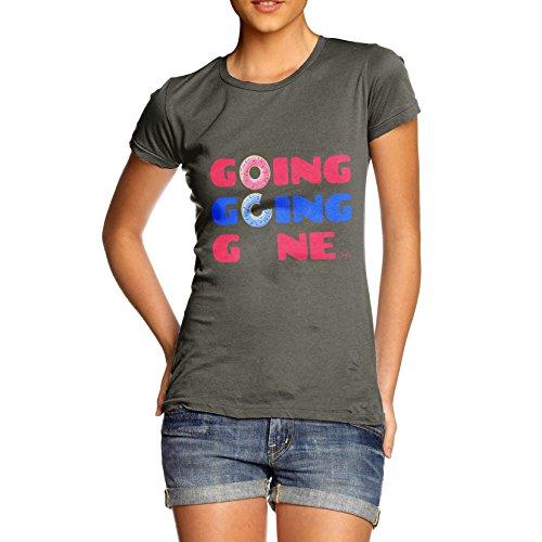 TWISTED ENVY  Damen T-Shirt Khaki