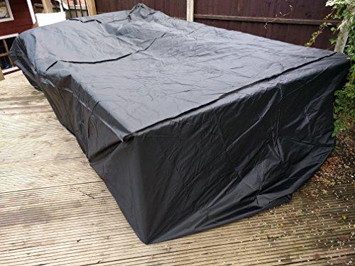 2 Größe für Garten möbel atmungsaktiv Qualität ausgestattet Abdeckung Größe für Gartenmöbel, atmungsaktiv Qualität ausgestattet Rechteck Tisch