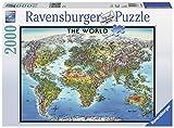 Puzzle Ravensburger Carte du monde - 2000 Pièces