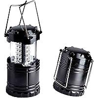 niceEshop(TM) Super Brillante con Pilas de la Linterna 30 LED Linterna Camping Plegable Retráctil y de Emergencia de la Lámpara Luz de la Noche