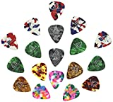 Tone Deaf Music Celluloid Guitar Picks/Plectrums (Pack of 18)