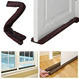 #9: Anzl Twin Door Draft Guard. Stop Unwanted light and Stop escaping of cool air from air conditioner split or Window