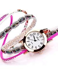 Las mujeres de cuarzo reloj – kingwo Popular de flor de las mujeres reloj de cuarzo