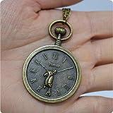 Reloj collar en latón antiguo