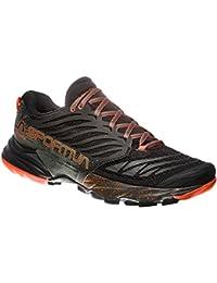 La Sportiva Bushido W's - Scarpa Donna Trail Running - Col. Plum/Apple Green (38,5)