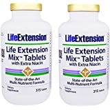 2-pack Life Extension MixTM Tablets with Extra Niacin, 315 tablets by Apran