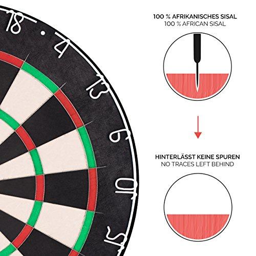 Everletics Pro Series Dartboard aus Sisal