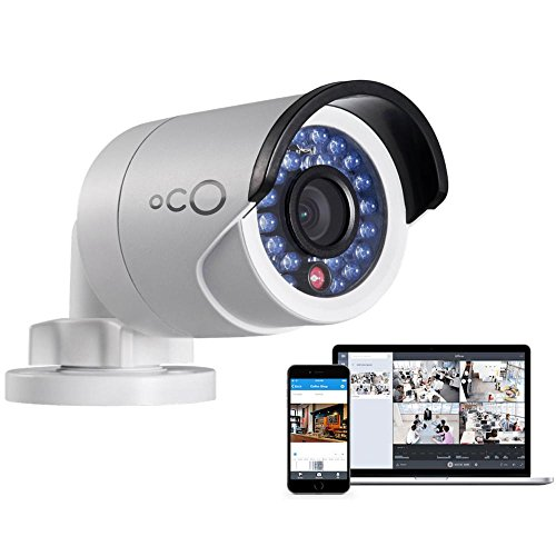 Oco Pro HD outdoor Bullet video sorveglianza videocamera 1080p telecamera di sicurezza con scheda SD & cloud Storage - Full Plug and Play kit