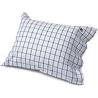 Lexington Icons Pin Point Shaker Standard Pillowcase, Navy/White