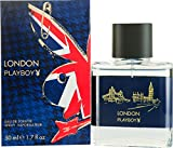 Playboy London 50ml Eau de Toilette Duft Spray für Ihn mit Geschenk Tüte