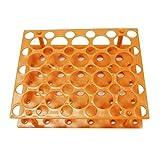 UKCOCO Portaprovette per centrifuga estraibile Porta-provette per centrifuga Accessorio per esperimenti scientifici da laboratorio 15ml/50ml (arancione)