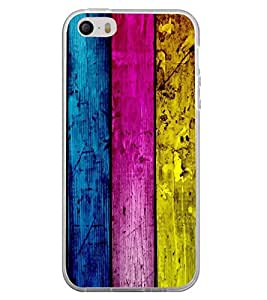 ifasho Designer Back Case Cover for Apple iPhone 5 (Hurricane Tracker Bing Wood Watches)