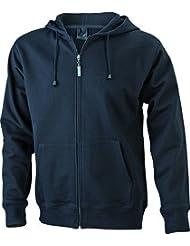 JN042-1 Men´s Hooded Jacke Sweatjacke Kapuze Sweatshirt