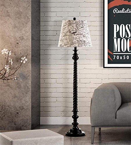DEED Stehlampe-Moderne Einfachheit Amerikanisches Land Europäische Retro Moderne Kreative Klassische Chinesische Art Harz Schlafzimmer Nachtschalter Wählbare Tischlampe Augenschutz Dekorative Lichter -