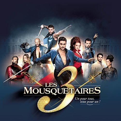 Le Spectacle - les 3 Mousquetaires 2DVD+1CD