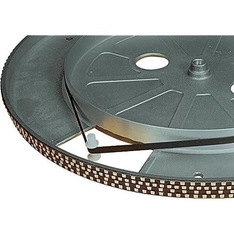 Electrovision–Cinture di platino Giradischi nera–dimensioni: (Pedale Jacks)