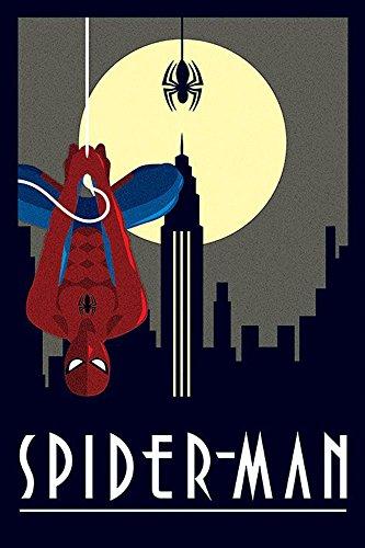 Marvel - Póster de Spiderman (incluye piezas para colgar)