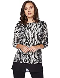 Roman Originals - Animal Print Top - Femmes