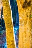 Holz-Bild 70 x 110 cm: 'Phu Sang waterfall at Phayao province, Thailand.', Bild auf Holz
