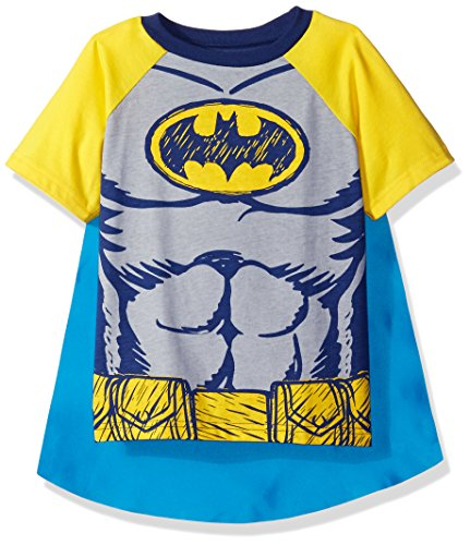 Superman T SHIRT Kinder Kostüm - DC Comics Batman Kleinkinder Jungen T-Shirt