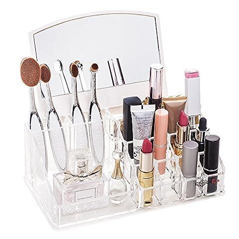 Choix Fun Organiseur à maquillage en acrylique Support Meuble de salle de bain accessoires