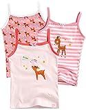 Vaenait baby 86-122 Maedchen Kinder Unterhemd 3-Packung Top Set Cami Dream Deer S