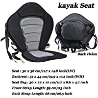 Mezzanine Cojín para asiento de kayak, barca, canoa, etc., ajustable, duradero, 1 unidad