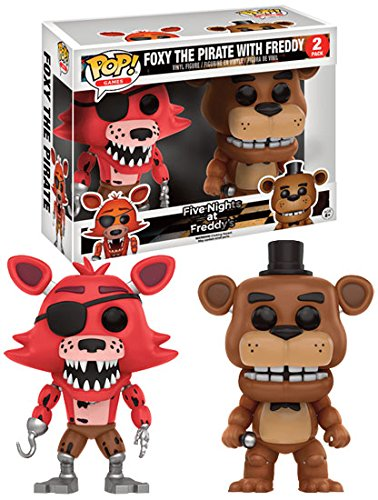 Five Nights At Freddy's Freddy and Pirate Foxy (Doppelpack) - Vinyl Figure Sammelfigur Standard