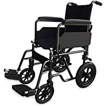 Silla de ruedas S230 de acero y transit - Prim ancho de asiento 43 cm