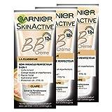 Garnier Skin Active BB Crème La Classique Claire - Soin Miracle perfecteur 5-en-1 - Lot de 3