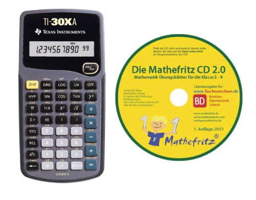 Texas Instruments TI 30 XA + Übungs-CD
