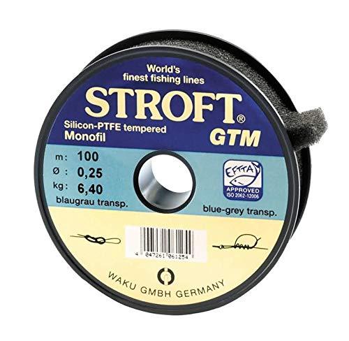 STROFT GTM - 0,22 auf der 100m Spule blaugrau/transparent -