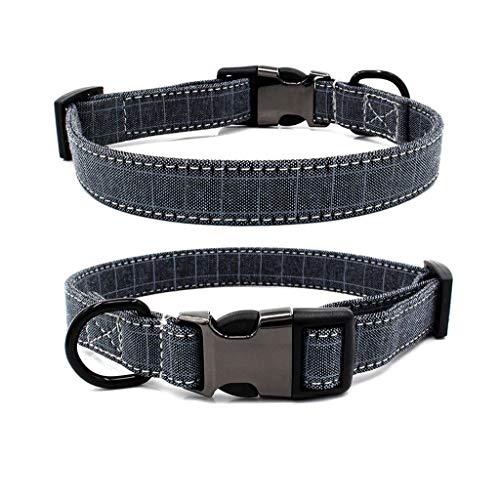 Barlingrock Hundehalsband Hundehalsband Hundehalsband Hundehalsband Hundehalsbandkragen Verstellbare Nieten Vollkragen Gut für Hunde, Katzen, Pferde, Haustiere -