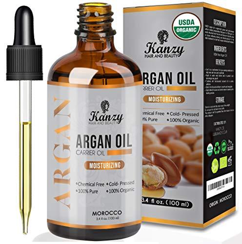 olio di argan moroccan - argan oil con vitamina e e antiossidante vegan puro 100%.