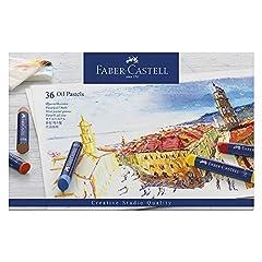 Idea Regalo - Faber-Castell 127036 Pastelli ad Olio, 36 Pezzi