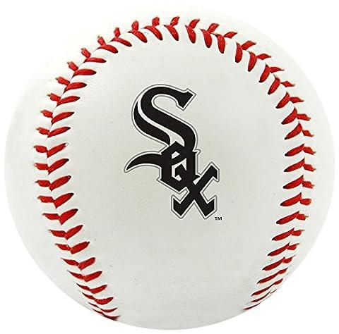 MLB Chicago White Sox Team Logo Baseball, Official, White
