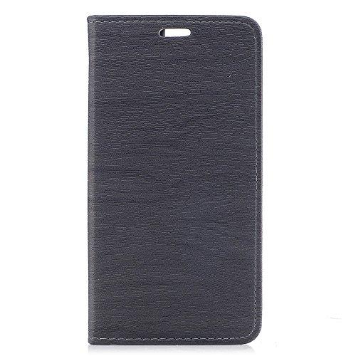 Wendapai Oukitel K6000 Pro-Schutz Excellence Brieftasche Stil Flip Hülle Hülle zum Oukitel K6000 Pro ONLY (Oukitel K6000 Pro Hülle Grey)