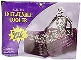 Halloween: Getränkekühler, Skelett im Sarg, aufblasbar 76 x 66 x 109 cm