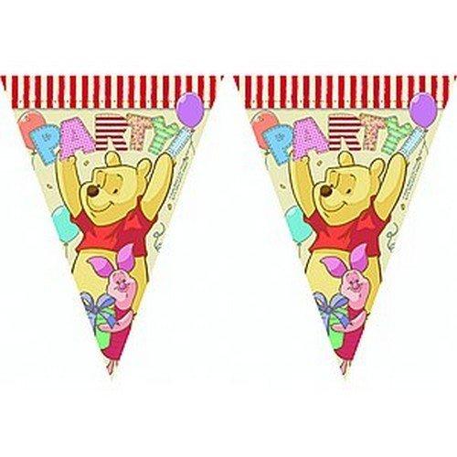 NEU Wimpelkette Winnie Alphabet (Winnie The Pooh Themen Kostüme)