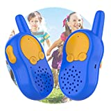Durable Walkie Talkies Toys for Kids Indoor Outdoor Playing, Toddler Little Boys Girls